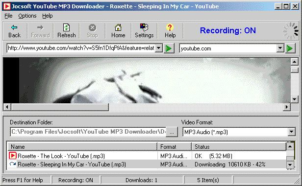 Jocsoft YouTube MP3 Downloader